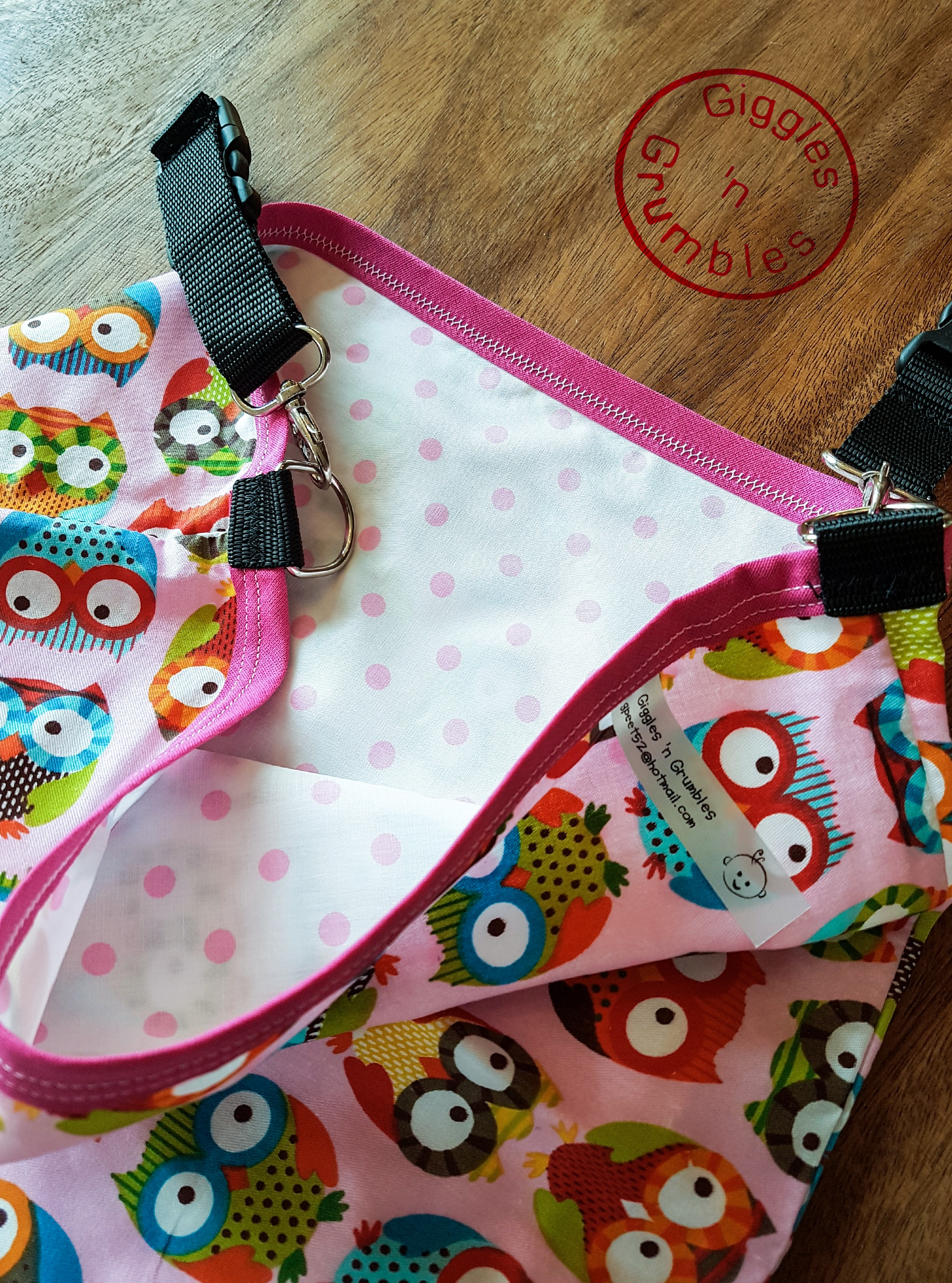 HotchPotchPouch baby owls