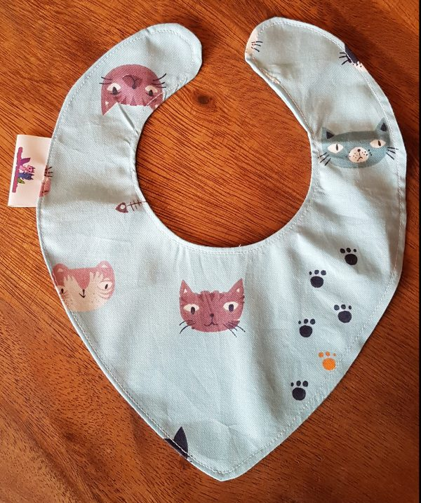 Dribblebib Multi Cats